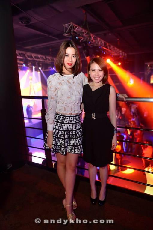 Estelle with MHB's Vivian Gan
