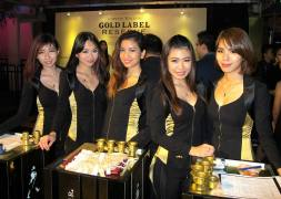 Johnnie Walker Gold Label Reserve Party at Velvet
