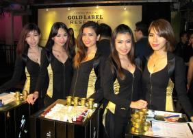 Johnnie Walker Gold Label Reserve Party at Velvet