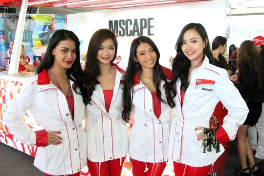 Marlboro MScape Lounge at Moto GP 2013