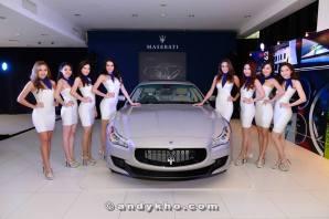 Maserati Quarttroporte Launch