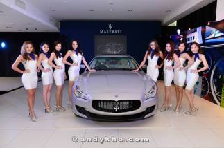 Maserati Quarttroporte Launch