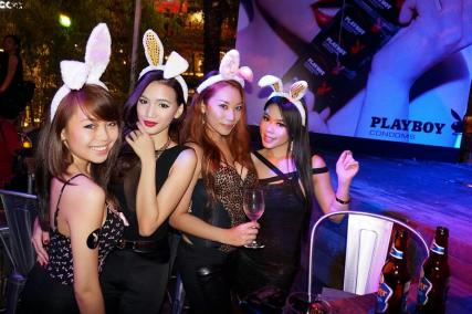 Playboy Condoms Launch