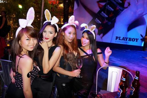 Playboy Condoms Launch