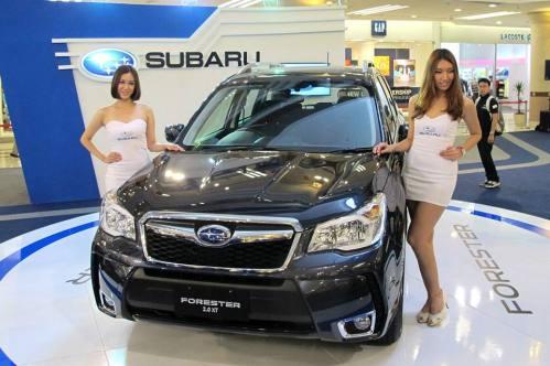 Subaru Forester Launch