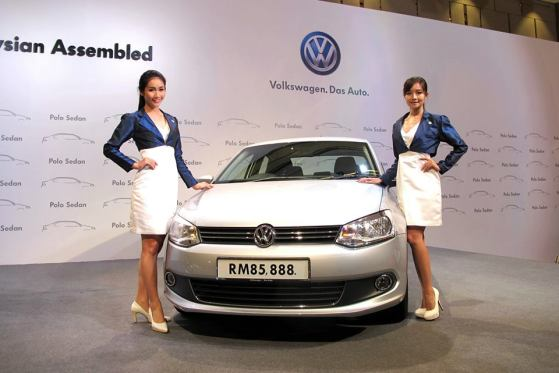Volkswagen Polo Sedan Launch