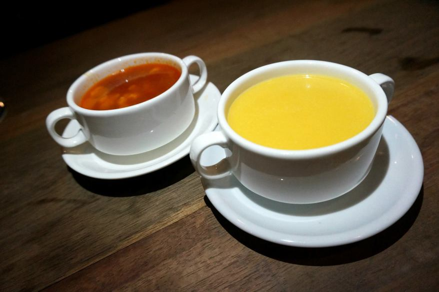 Italian Style Tomato Soup - RM6.50 & Pumpkin Soup - RM6.50 - flavourful and pretty nice. The food at Happer is pretty decent but don't go expecting fine dining or anything. It's decent fare to accompany your drinks.