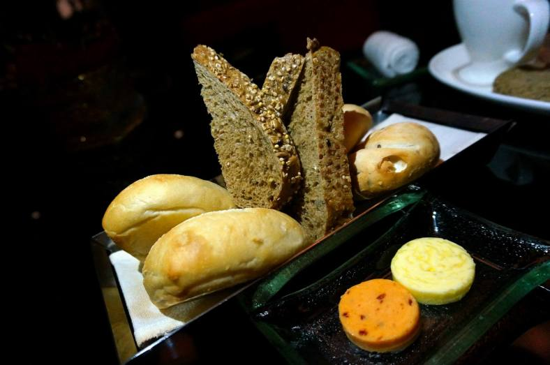 Some nice warm bread to start off the meal