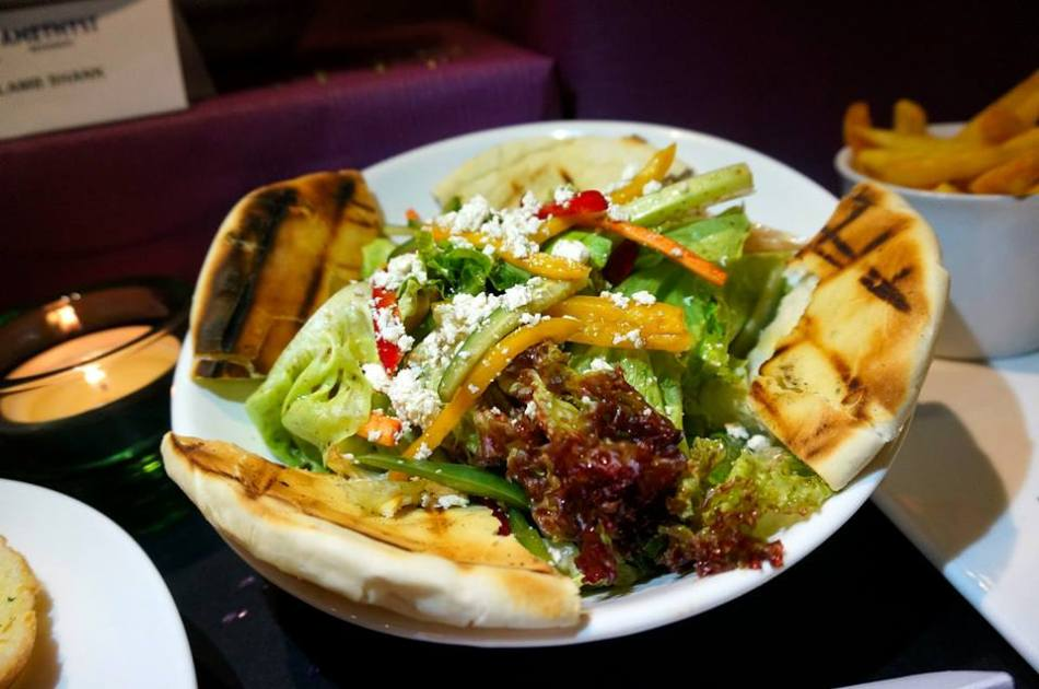 Grilled Pita Bread Salad - for those of you who are more health conscious. I prefer my salads with a little more dressing (unlike my regular partner in crime for food reviews in 2013 who always requests for the dressing to be separate).