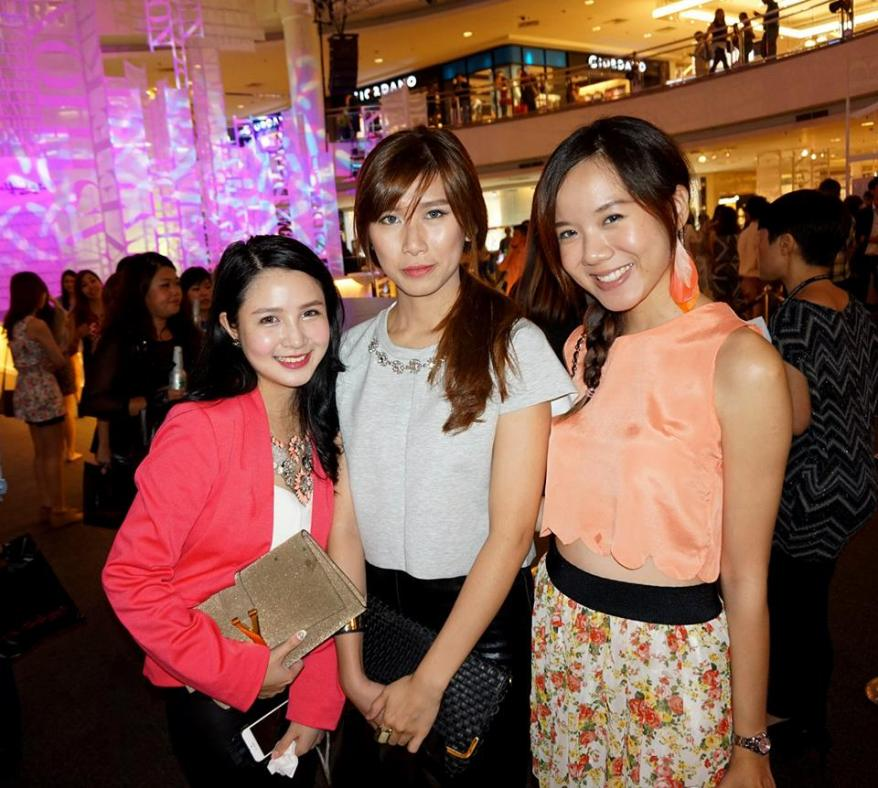 MHB's Povy Teng with her friend and Yee Ying
