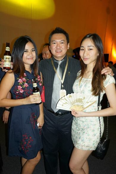 With MHB's Mynn Lee and her colleague from Red FM Melissa Th'ng