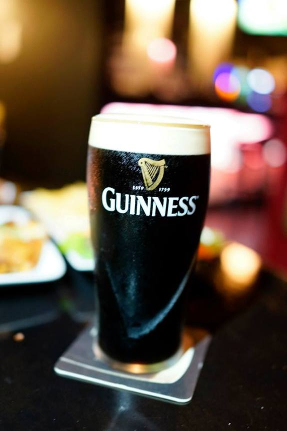 Guinness draught - RM23.00 nett - they also serve very good Guinness draught and this is due to the fact that they practice the 2-part pour which results in a more stable head which keeps the beer from oxidizing.