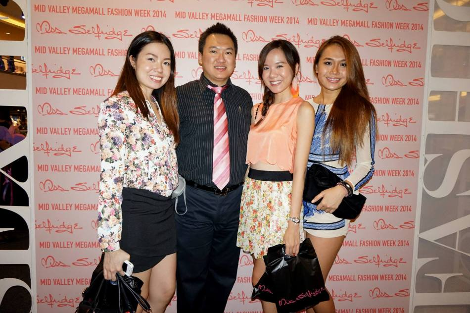 With Paige, Yee Ying and Magdeline Wang