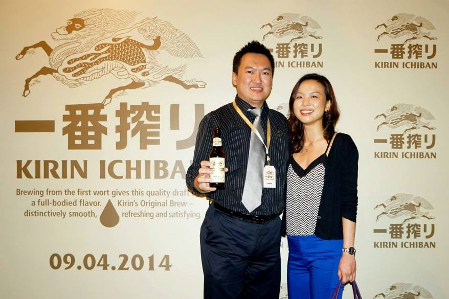With Jia Li at the photowall
