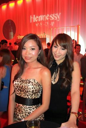 MHB's Valerie Chua with her colleague Marilyn