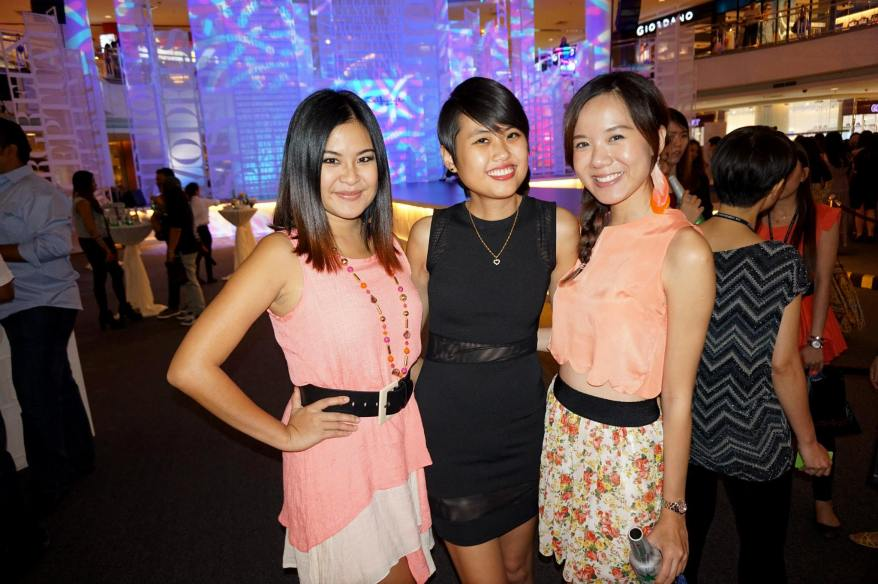MHB and Red FM's Mynn Lee with Stephanie and Yee Ying