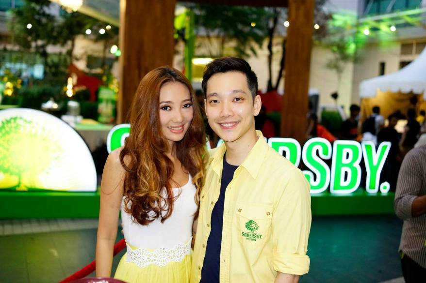Chelsia Ng and Jeremy Teo were the MCs of the event