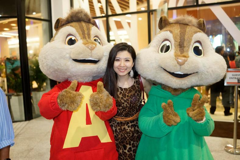 Ruby with some chipmunks