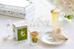 Overall Winner's Yuzu Cheese with Orange Marmalade Tart paired with Jasmin Batrisyia, Dilmah's Green Tea with Jasmine Flowers, Pomelo, Honey and Lemongrass