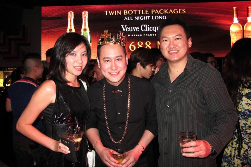 Crystal and I with the birthday boy