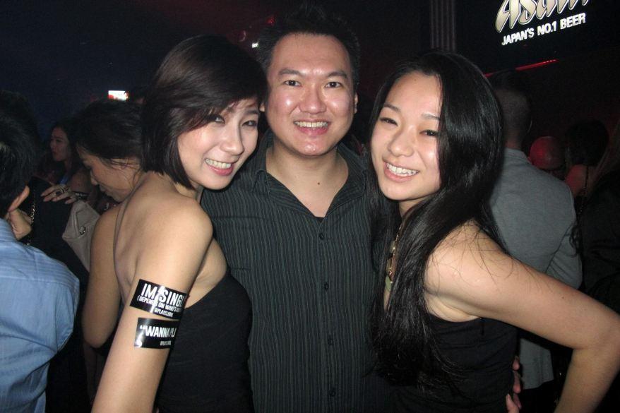 With Cecilia and Amanda