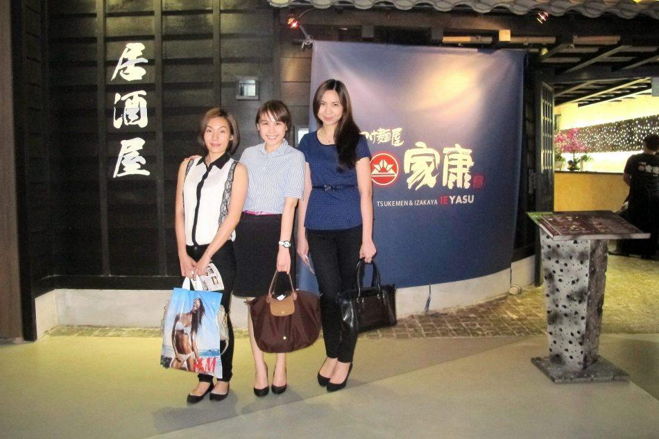 The three (3) OLs ie. Office Ladies - Jessie, Vivian and Sharon