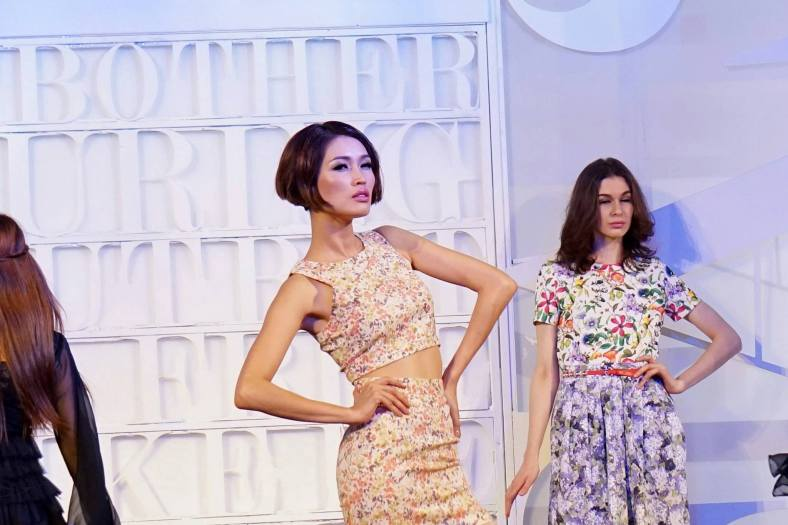 Amber Chia was the celebrity model for the show