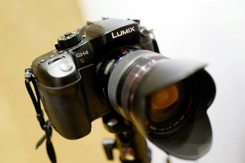 I was thrilled that there was new Lumix camera previewed during the launch - a new 4K Lumix nonetheless!