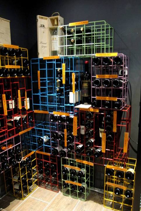Speaking of wine, The Point has a wide selection of wines in their cellar