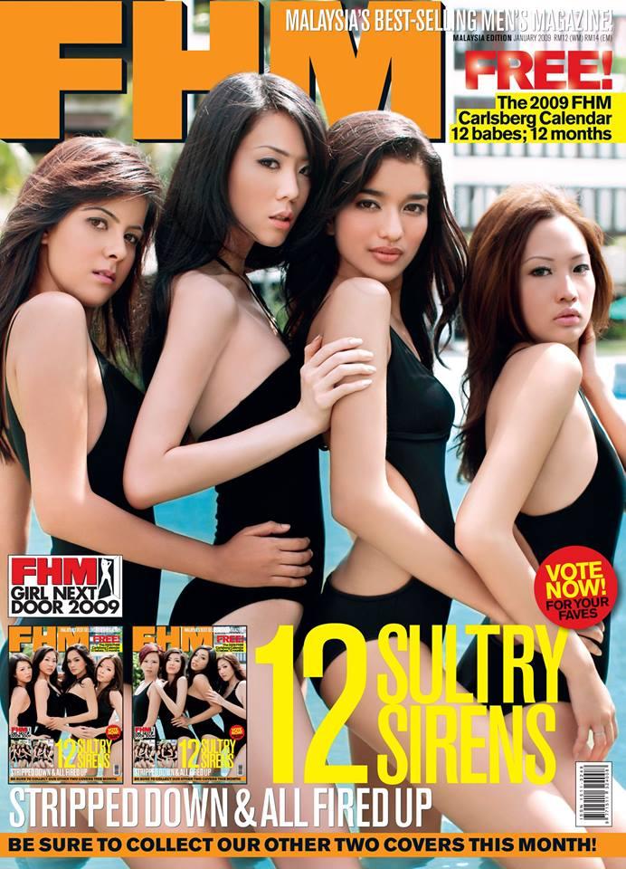 Felixia Yeap FHM cover