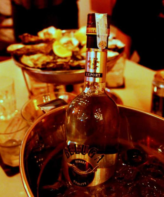 Beluga vodka is served chilled as it brings out the taste of the vodka as compared to being served in room temperature