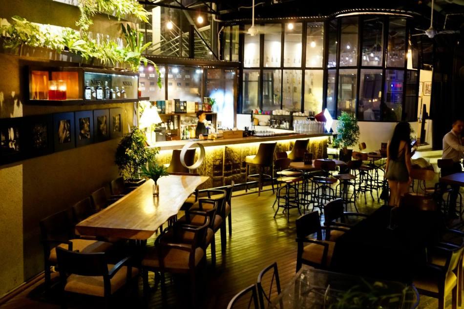 Malt & Leaf which is a cigar lounge