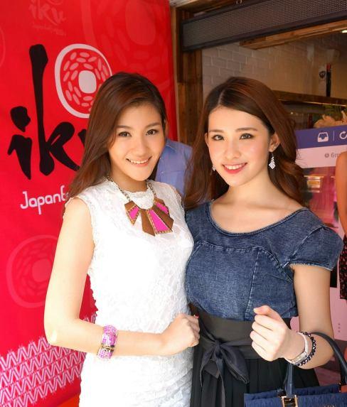 Elvina Chua and Angeline Loo