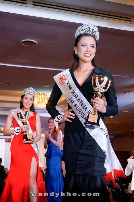 Bob Low - Miss Malaysia World 2014 1st runner up