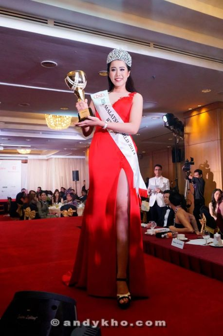 Dewi Liana Seriestha - Miss Malaysia World 2014