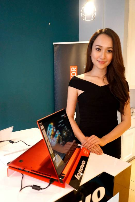 Ancy again at another Lenovo launch