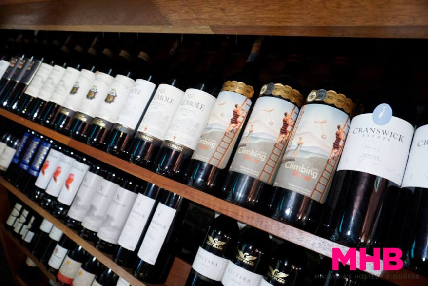 While its sister outlet Tom, Dick & Harry's which is located below on the ground floor, is more of a sports bar reknowned for its fresh ice cold beers, Hoofed is a wine bar with a good selection of wines
