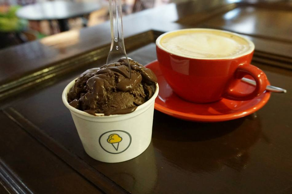 They serve a decent cup of coffee which is important for coffee lovers like me
