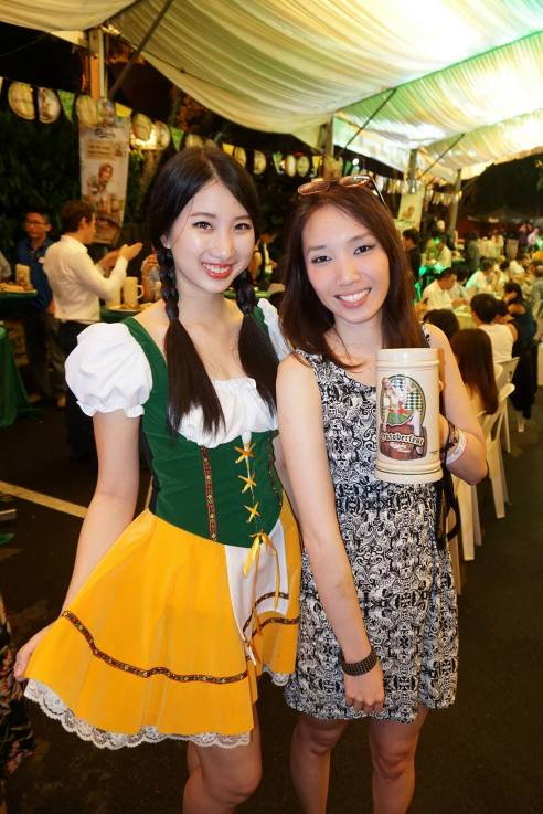 MHB's Naomi Tham and her stein!
