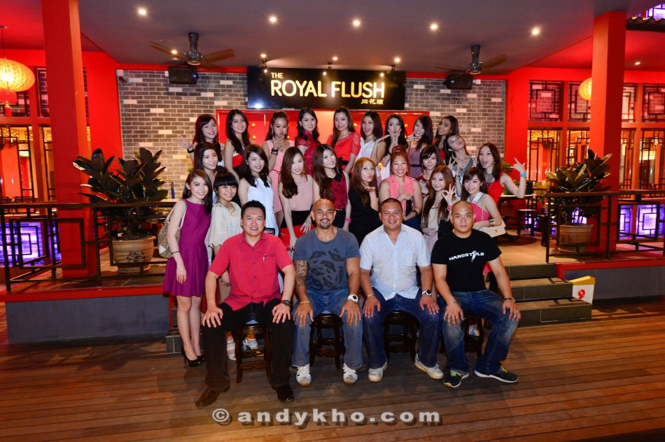 Chinese New Year dinner at Royal Flush