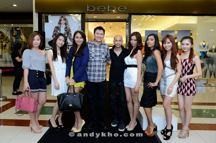 bebe fashion show at 1 Utama
