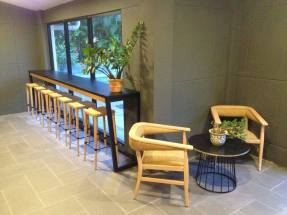 Lower ground bar lounge area