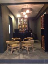 Lower ground lounge area