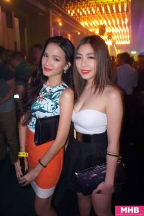 Stephanie with DJ Alexis Grace