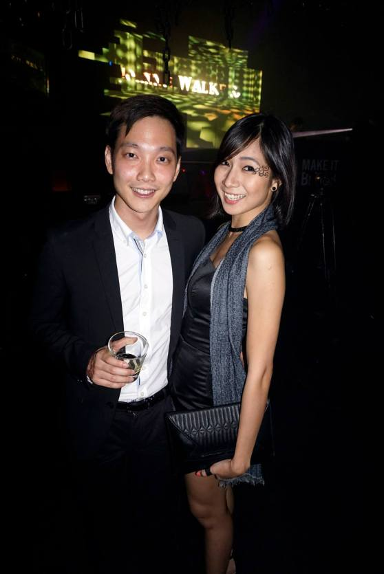 Red FM's Jeremy Teo and his girlfriend Cecilia Yong of So You Think You Can Dance (Malaysia)