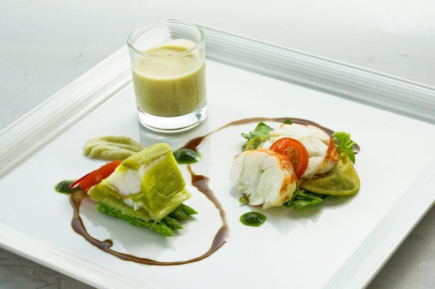 Rock Lobster Salad
