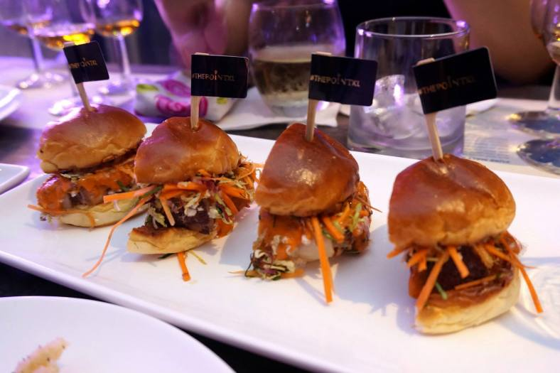 Mini Pork Belly Burgers - one of my fav appetisers at The Point