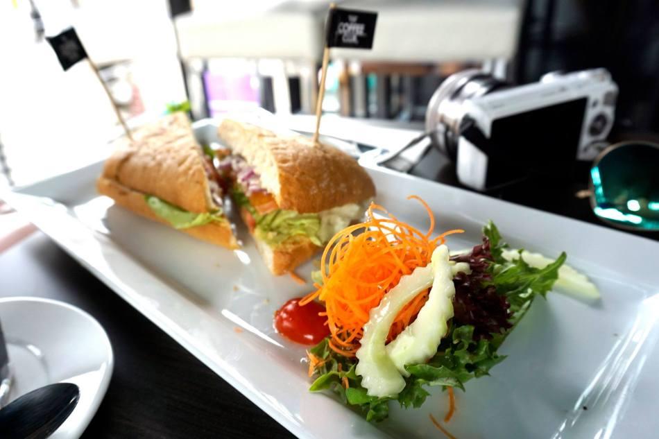 Smoked Salmon Sandwich - RM24.90