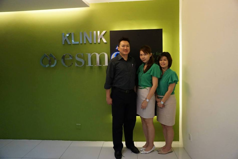 With consultants/ therapists Caryln and Sylvia. You can look for them and mention my name if you visit the clinic.