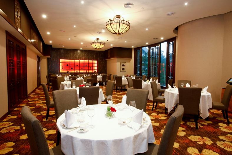 Dynasty Restaurant's dining room